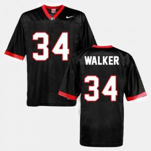 University of Georgia #34 Men's Herschel Walker Jersey Black College Football Stitched 975468-945