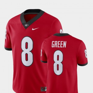UGA #8 For Men A.J. Green Jersey Red Embroidery Alumni Football Game Player 606649-667
