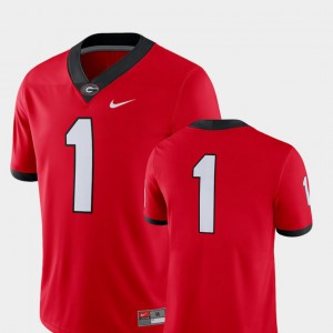 University of Georgia #1 For Men's Jersey Red Alumni 2018 Game College Football 162725-259