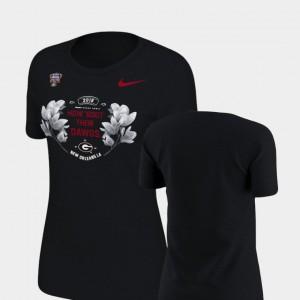 UGA Women T-Shirt Black Player Verbiage 2019 Sugar Bowl Bound 390627-789