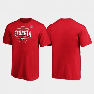 Georgia Kids T-Shirt Red Tackle 2020 Sugar Bowl Bound High School 979213-894