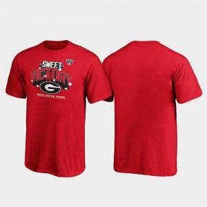 GA Bulldogs Youth(Kids) T-Shirt Red High School 2020 Sugar Bowl Champions Receiver 879956-534