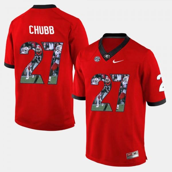 nick chubb uga jersey
